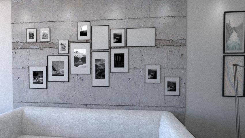 Ściana z betonu architektonicznego