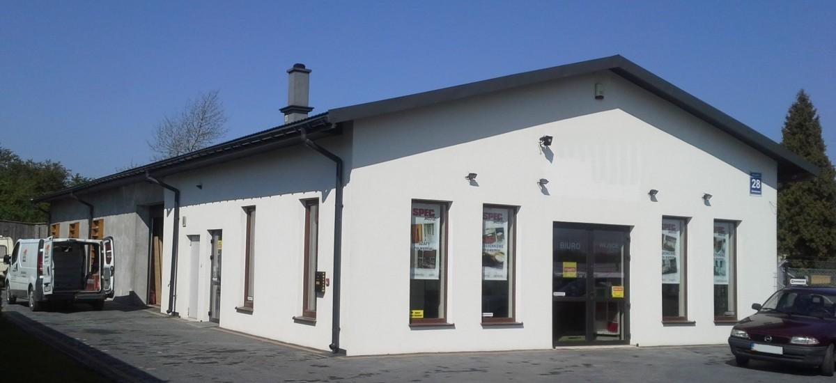 Budynek produkcji mebli