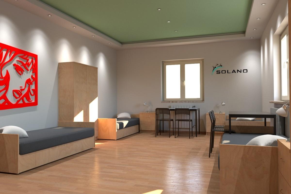 solano standard pomieszczeń