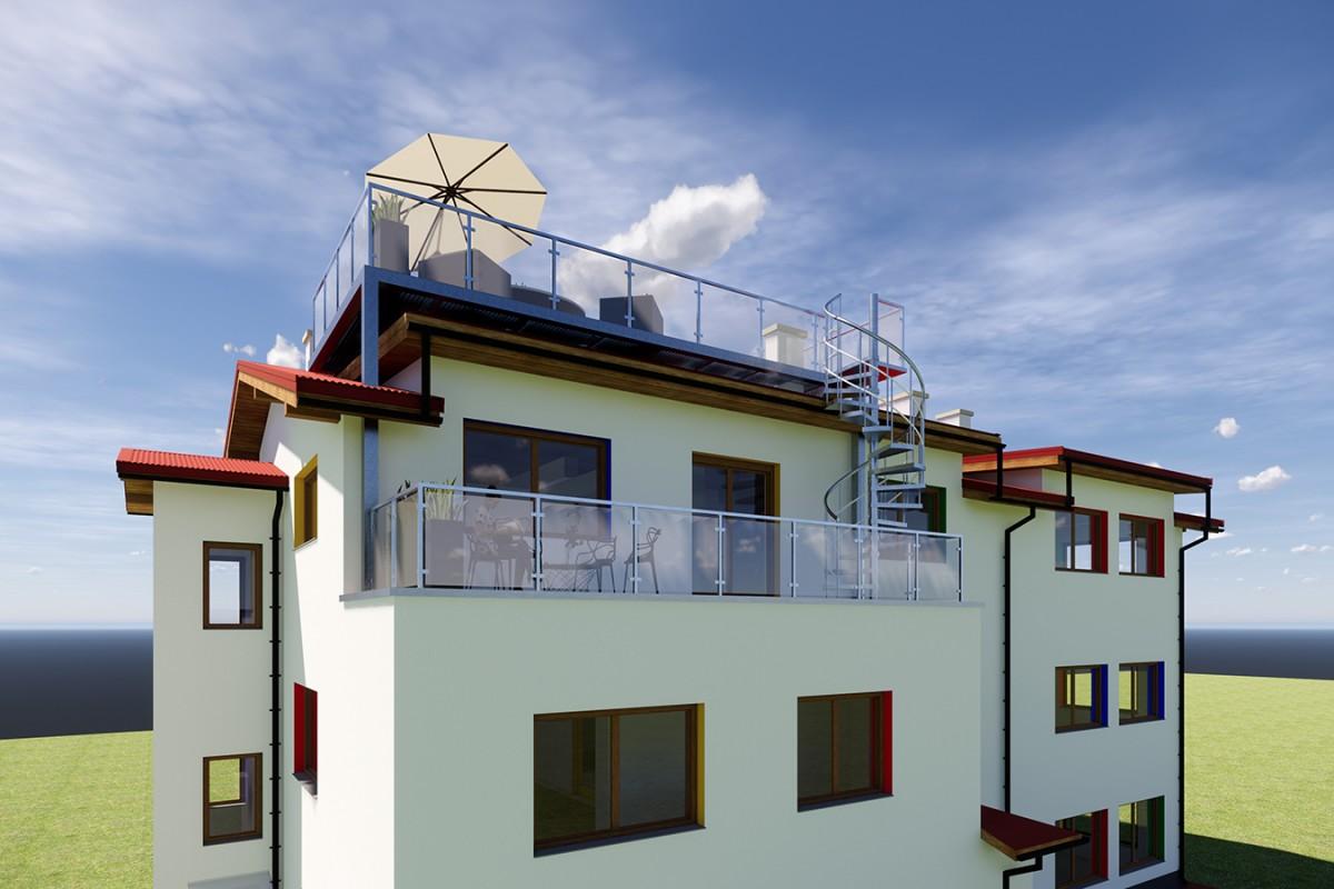 balkon stalowy dobudowa